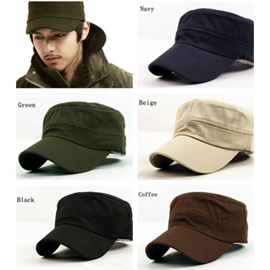 b748038caa0 Unisex Military Army Cap Hot Castro Cadet Patrol Hat Adjustable Retro
