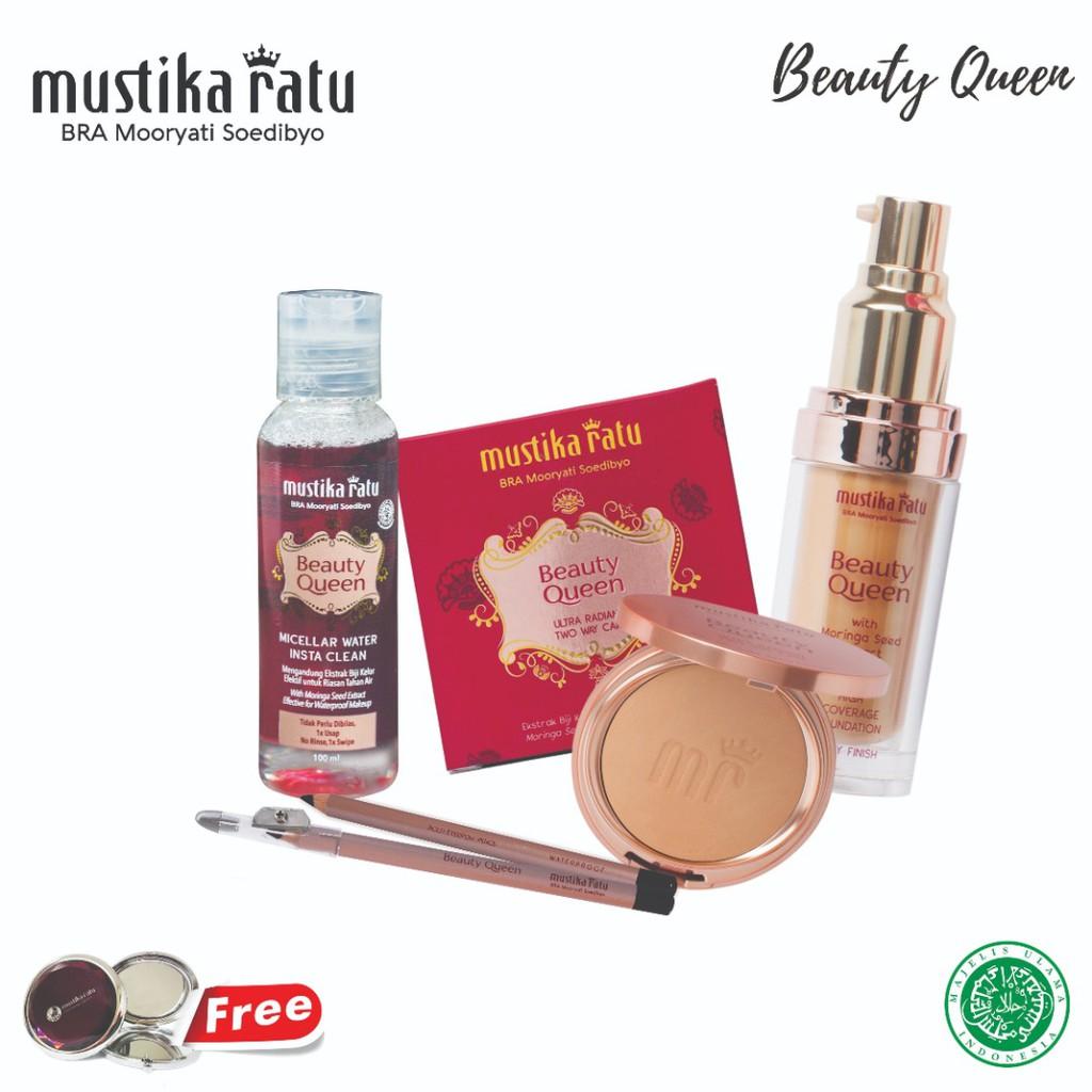 Mustika Ratu Beauty Queen 4 in 1 Simple Makeup