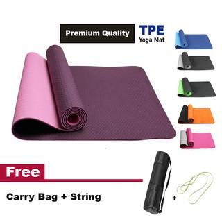 VIGOR FITNESS NBR Yoga Mat (10mm) [Free Strap]