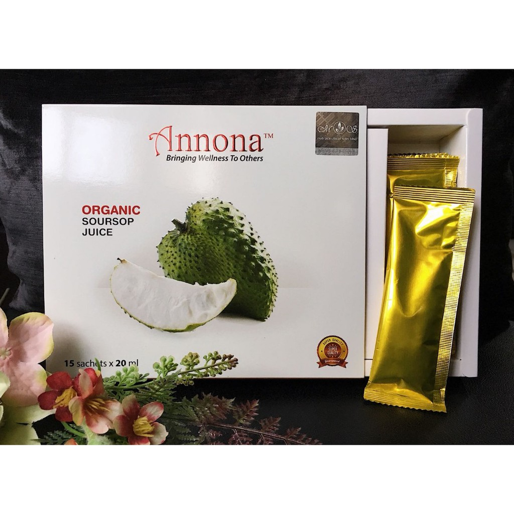 Jus Annona Jus durian belanda annona soursop (sachet) + 🎁