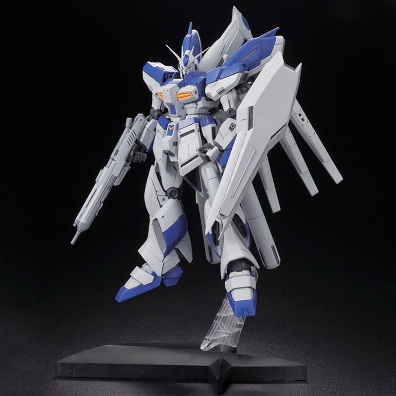 BANDAI-GundamMG 1/100 HI-v/Hi-Nu Manatee Gundam KA Card Edition with stand