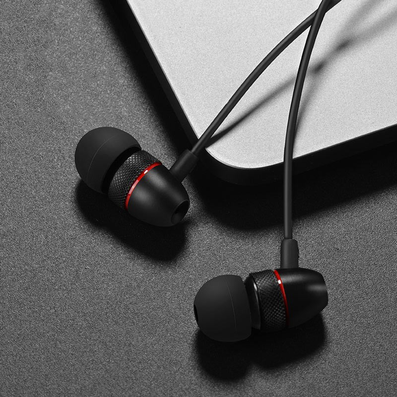 Hoco M59 Magnificent Universal Earphones With Mic Earbuds