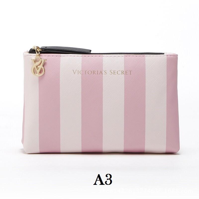 6c67234f2c75 Victoria's Secret Stripe Pouch | Shopee Malaysia