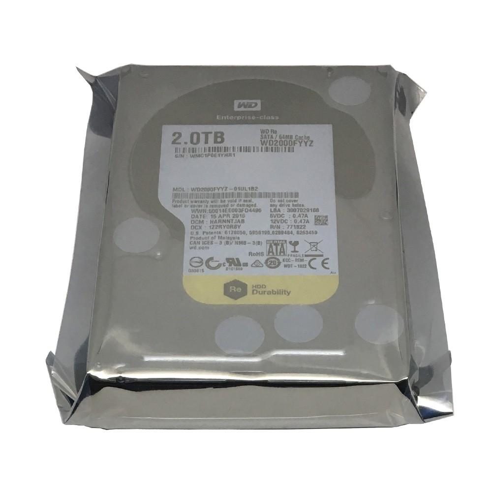 """Western Digital WD Re SATA WD2000FYYZ 2TB HDD 3.5/""""  sealed Enterprise hard drive"""