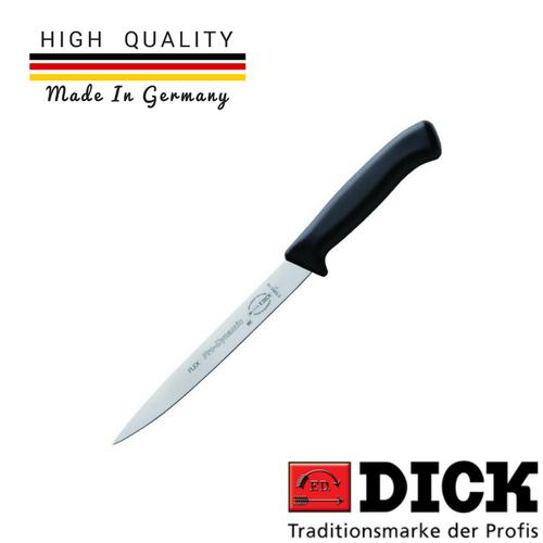 F.DICK, Fillet Knife, Flexible, 18cm (7''), Black Handle (ProDynamic)