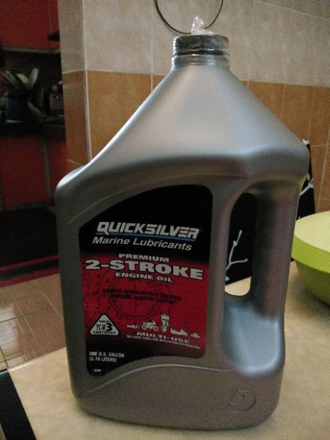 QUICKSILVER Marine Lubricants Premium 2 Stroke Engine 2T