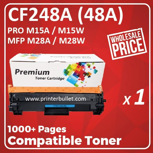 Compatible Laser Toner Cartridge CF248A / 48A / CF248 / 248A For HP LaserJet M15 M28 Pro M15A 15A / M15W 15W / MFP M28
