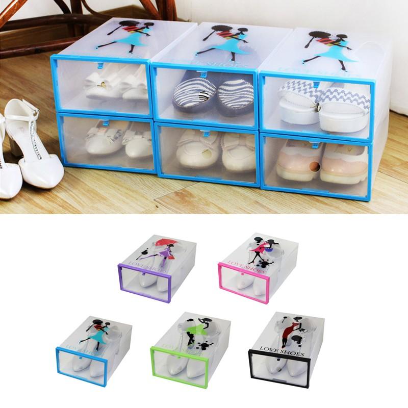 Living Plastic Space - Saving Home Organizer Storage Holder Shoes Display Rack | Shopee Malaysia