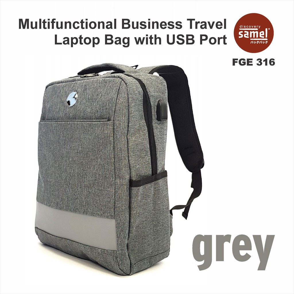 FGE 316 Business Travel Laptop Bag with USB Port