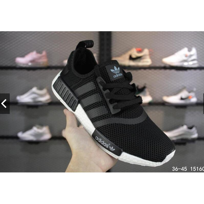 Original Adidas Nmd Human Race Black And White Men S And Women S