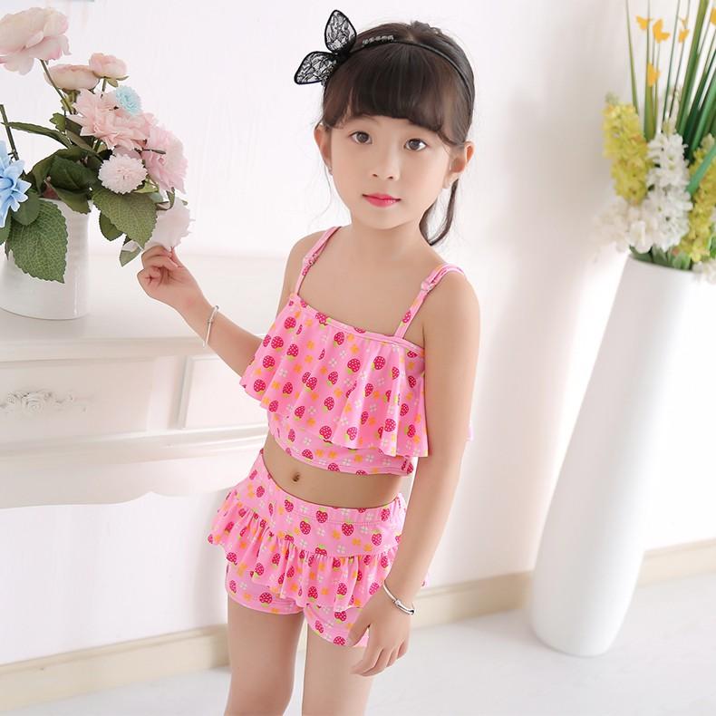 a66268a78b Youyou children's swimwear girls girls conjoined princess dress baby girl  childr | Shopee Malaysia