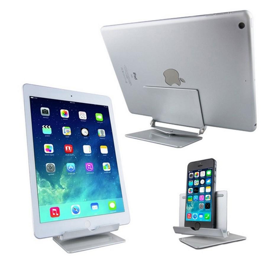 Portable Handphone Ipad Table 360 Degree Rotating Aluminium Stand