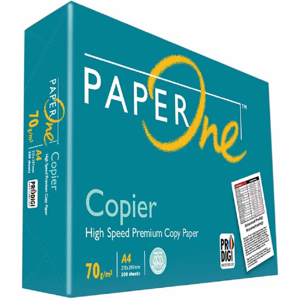 Paper One A4 70GSM/75GSM 500 Sheets