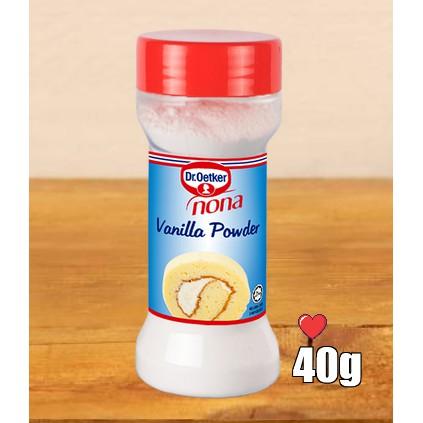 Dr.Oetker Nona Vanilla Powder 40g ( Free Fragile + Bubblewrap Packing )
