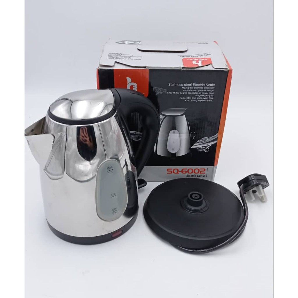 [READY STOCK] Stainless Steel Electric Kettle