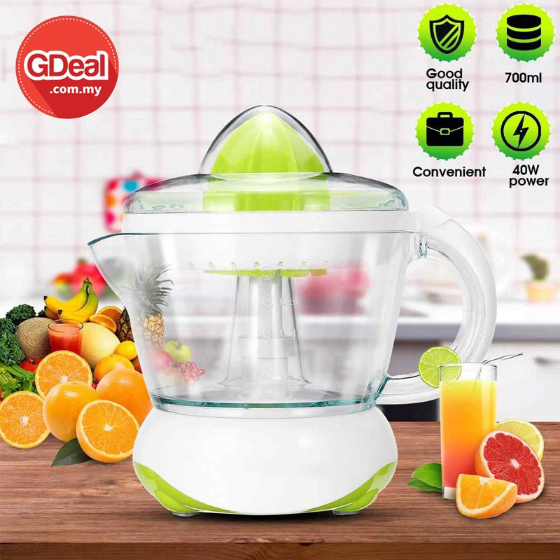 GDeal Electric Squeezed Orange Juice Machine Portable Household Electric Fruit Juicer 700ml