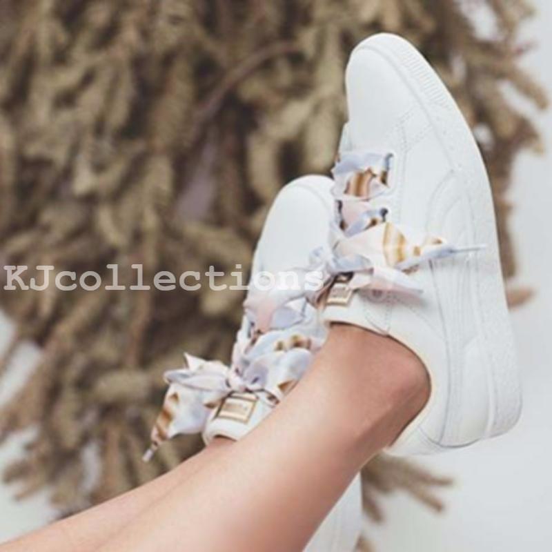 puñetazo Continente Entretener  New Arrival Puma Basket Heart Geo Camo Badminton Shoes Sneakers | Shopee  Malaysia