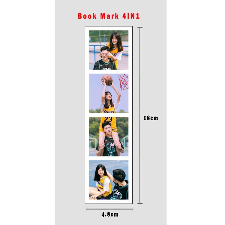 Book Mark Fujifilm Polaroid (Matt/Glossy)/4 in 1/4.8cmX18cm(1.88x7.08Iches)