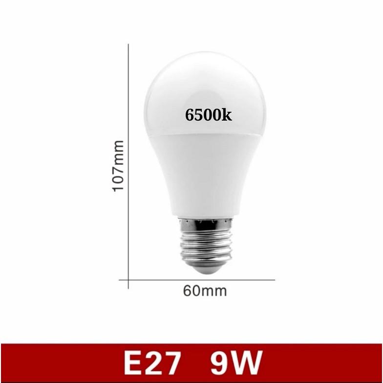 [ READY STOCK ]  Quality Led Light Bulb No Flicker E27 220v 9w 15w 22w Cold White Lampu Raya Pelita Bubbe Ball Lamp Murah