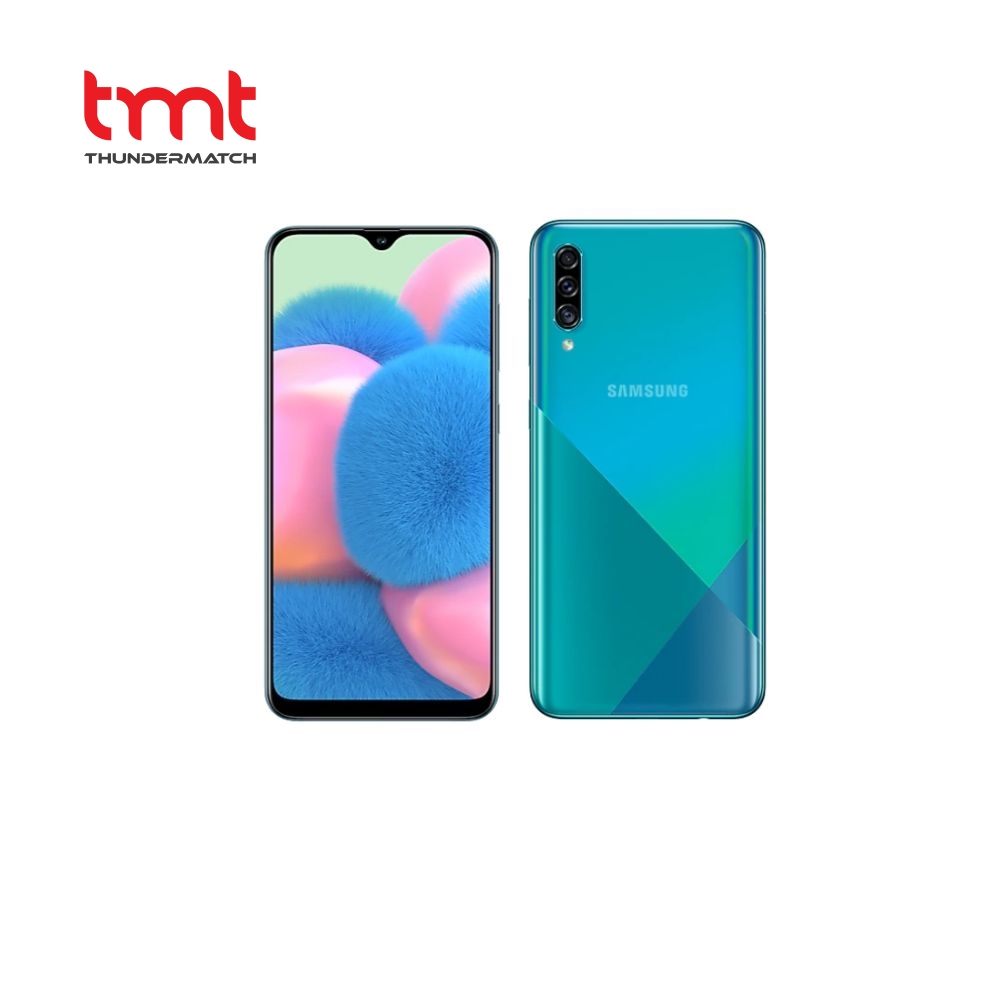 "Samsung Galaxy A30s Green | Octa-Core | Dual Sim | 6.4"" | 64GB | 4GB | 25MP Rear | 16MP Front | Android 9.0 | 1 Yr Wty"