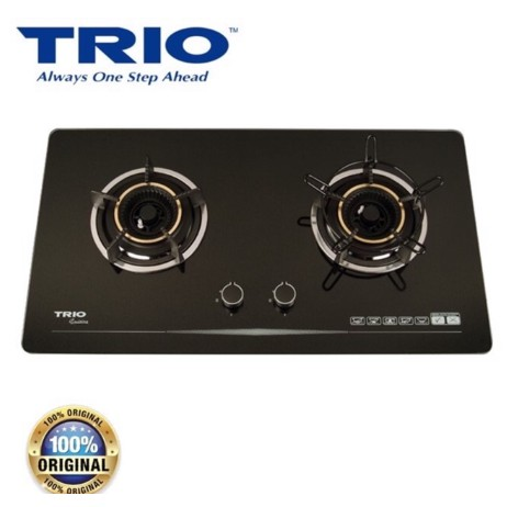 TRIO TBH-G822EX BUILT IN GLASS HOB (ADJUSTABLE BUILT IN DIMENSION)