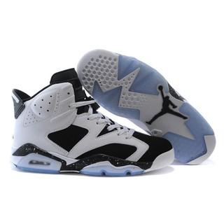 sale retailer 89442 8f68f Nike Air Jordan 6 Retro Oreo White And Black Men And ...