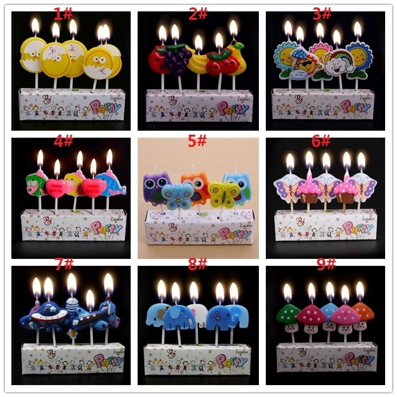 Firework Birthday Sparkle Candle Party Cake
