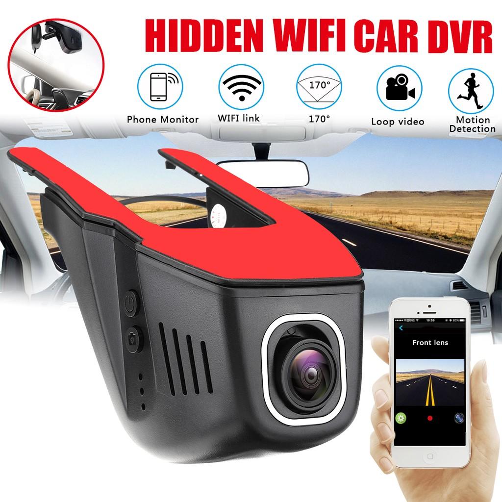 Hidden Car Camera 1080P Wireless WIFI DVR Camera Video Loop Recorder Dash Cam
