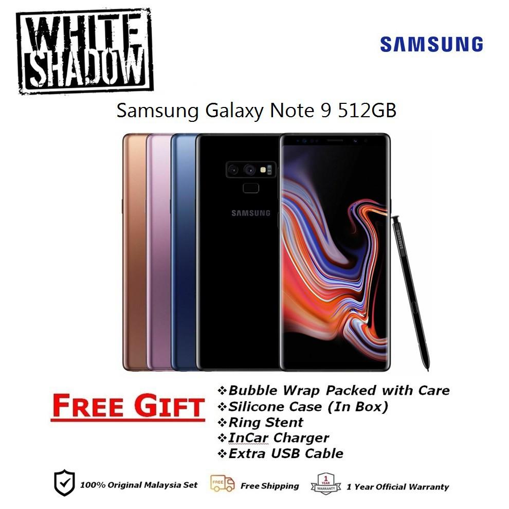 Samsung Galaxy Note 9 8GB+512GB Original 1 Year Samsung Malaysia Warranty
