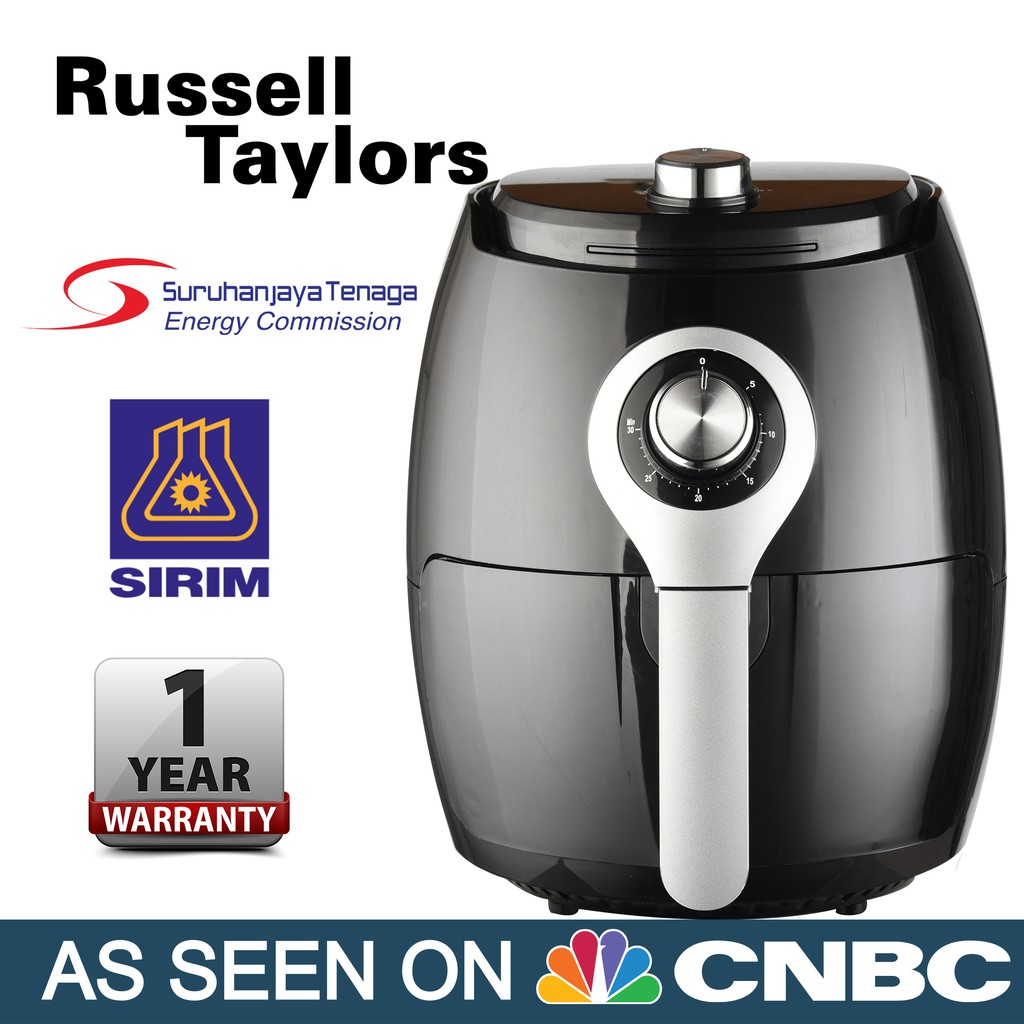 Russell Taylors Air Fryer Large 3 8l Af 25 Shopee Malaysia