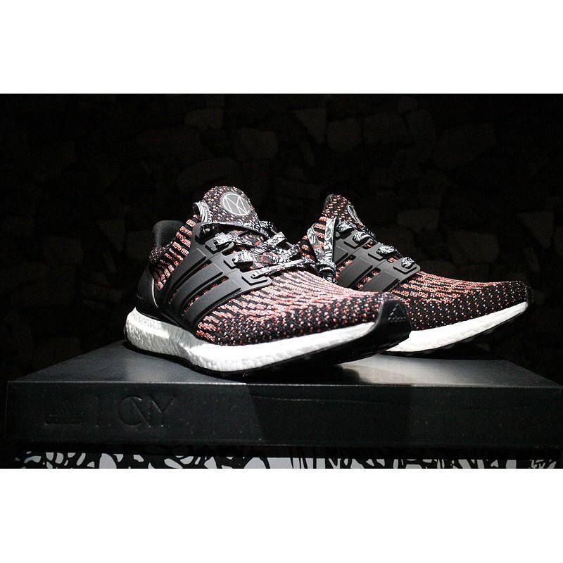 Original Adidas Ultra Boost 3.0 Golden Men ' s and Women ' s running shoes