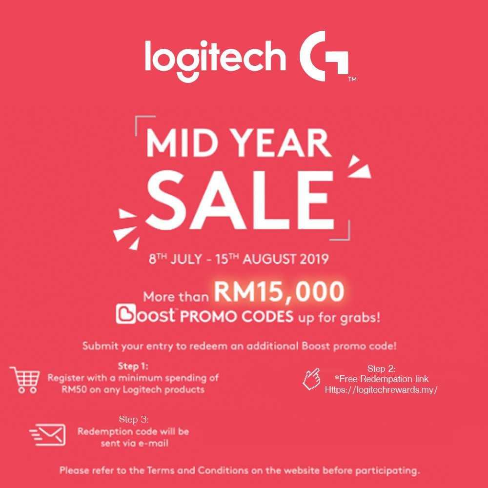 Logitech G304 Lightspeed Wireless Gaming Mouse (910-005284) FREE
