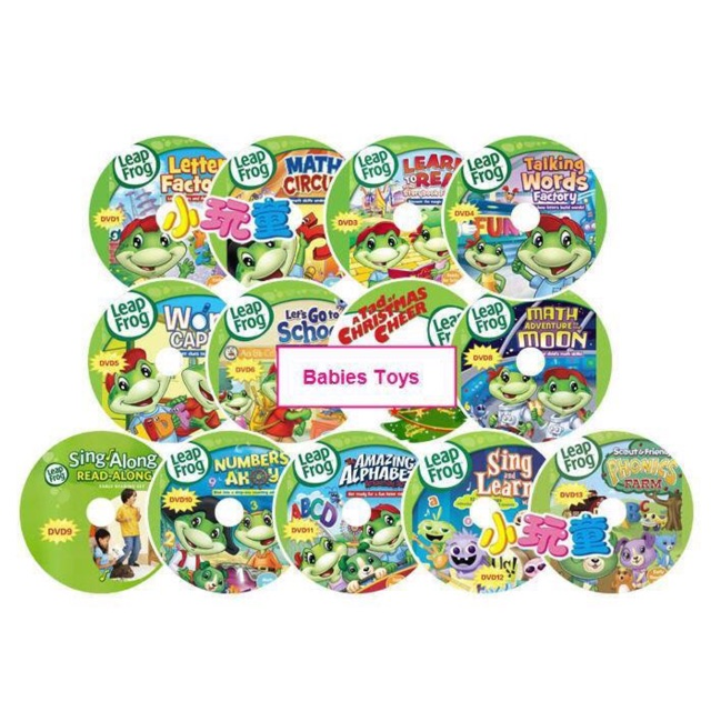 Leapfrog A Tad Of Christmas Cheer Dvd.Leapfrog Dvd Set 16dvds Set And Without Subtitles 1mp3 Ready Stock