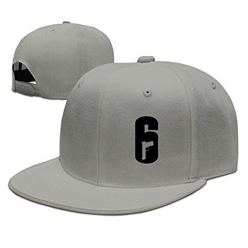 ad4fc280b2e2b Rainbow Six Siege 6 Adjustable Casquette Hat