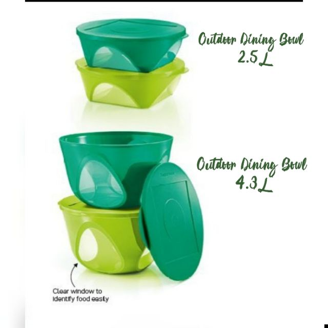 💥💥 Tupperware Outdoor Dining Bowl Set