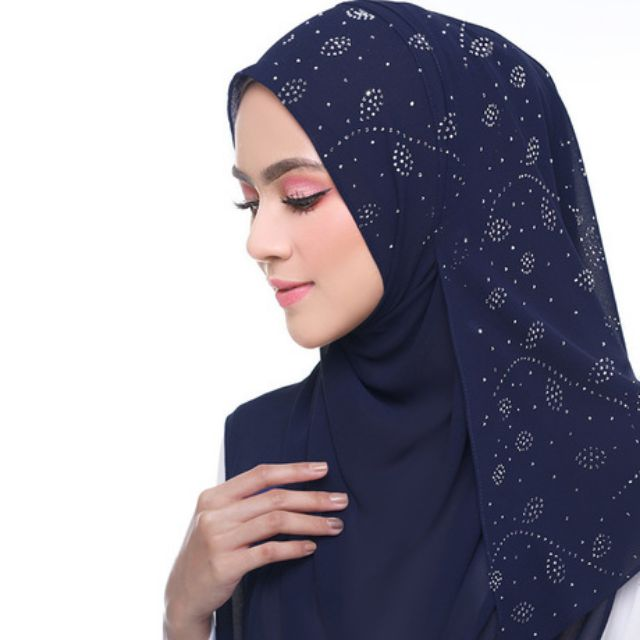 #Hot Sale# TUDUNG SHAWL BATU MANIK TABUR