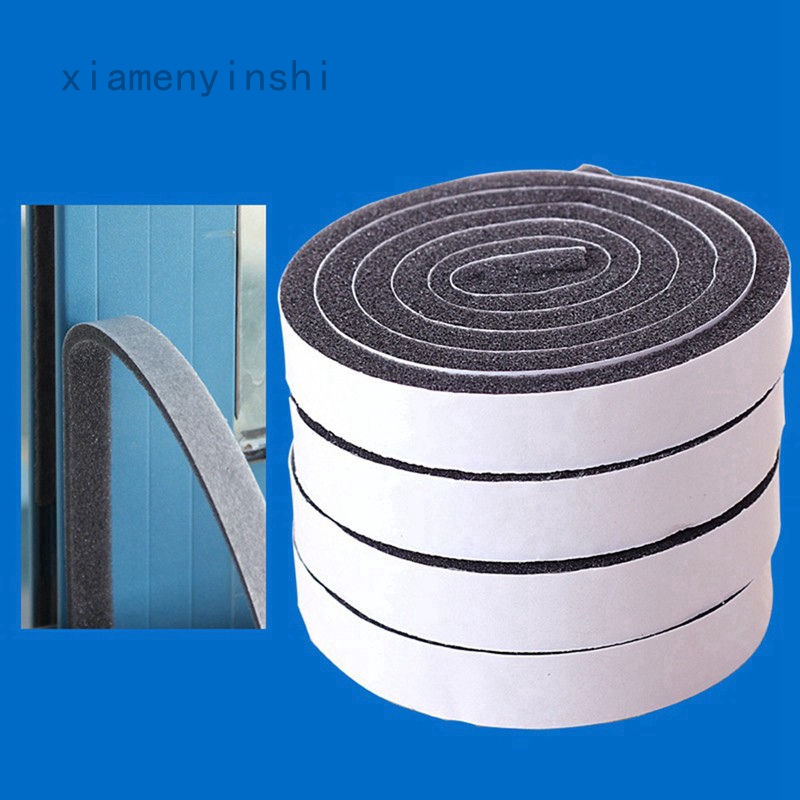 6M Rubber Sealing Strip Draught Excluder Tape Draft Insulation For Door Windows