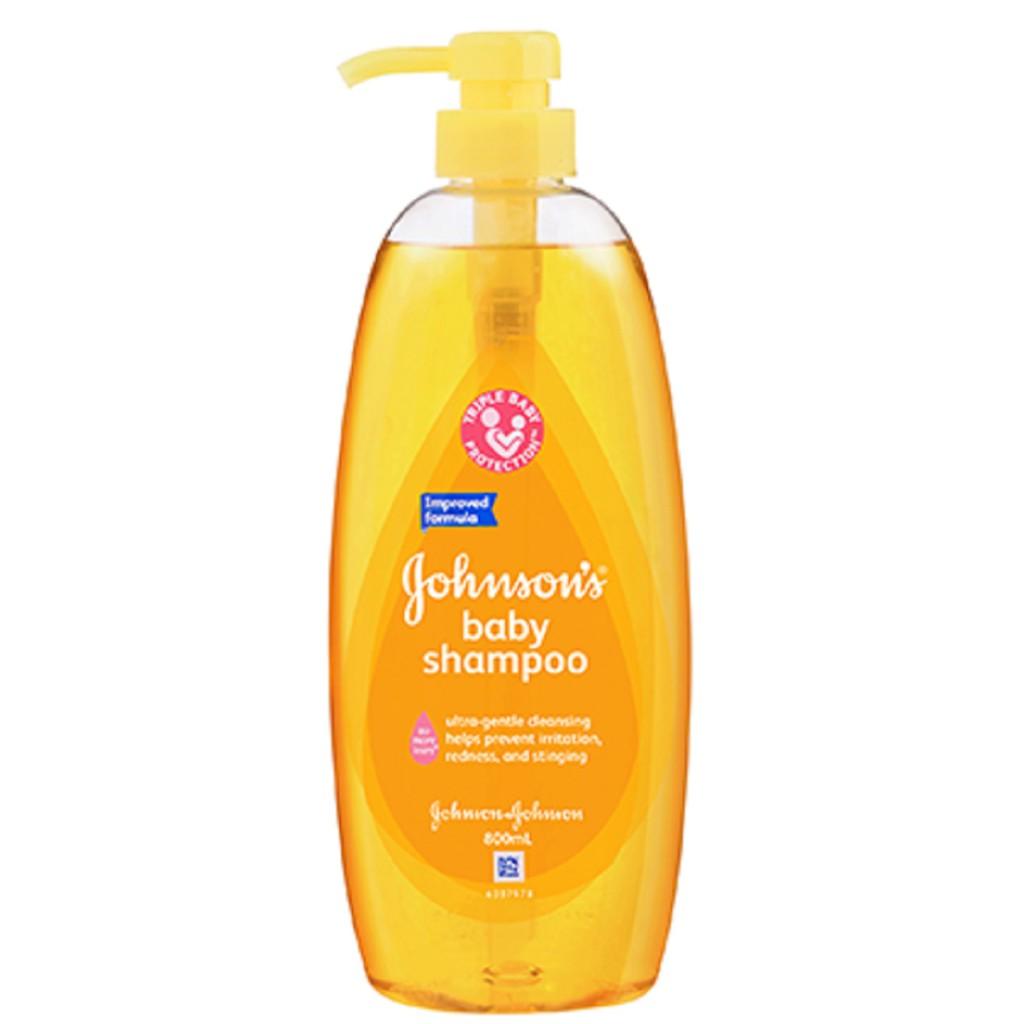 Johnson's Baby Shampoo (800ml)