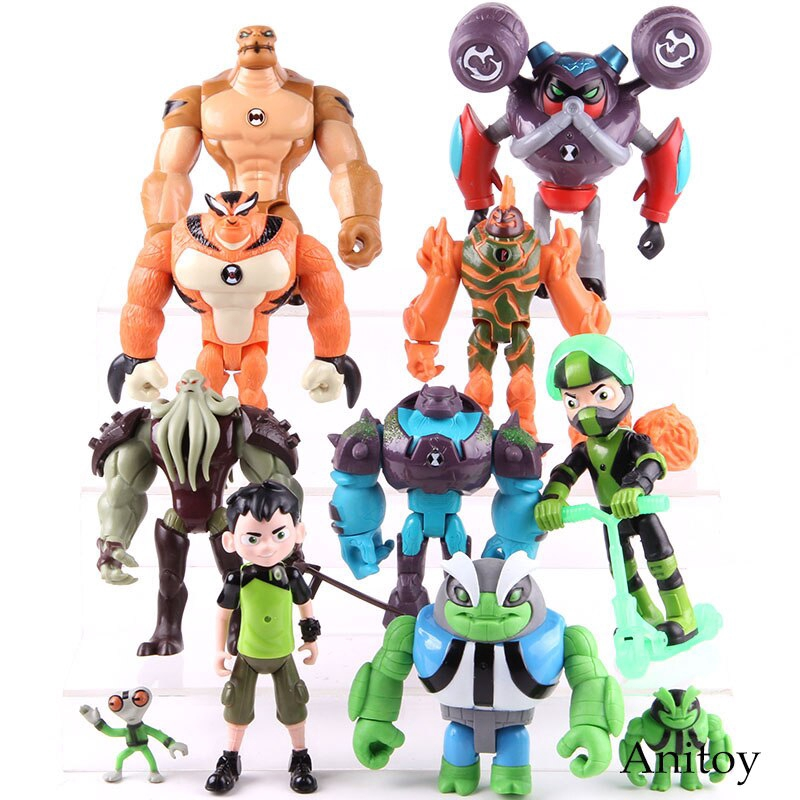 Heatblast Brand New Ben 10 Transforming 20cm Action Figure