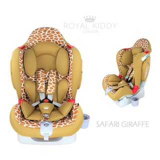 Royal Kiddy London Venture Safari Giraffe Baby Car Seat Newborn To 6 Years Old