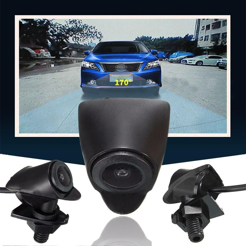 Car Auto Front View Camera Logo Embedded Waterproof For Toyota 170° Wide Lens