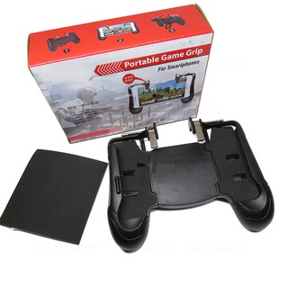 Mobile Game Controller Triggers Multi-Function Handle Joystick Grip LHX-A03