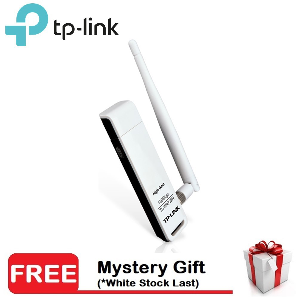 TP-Link TL-WN722N High Gain Wireless N USB Adapter Wifi