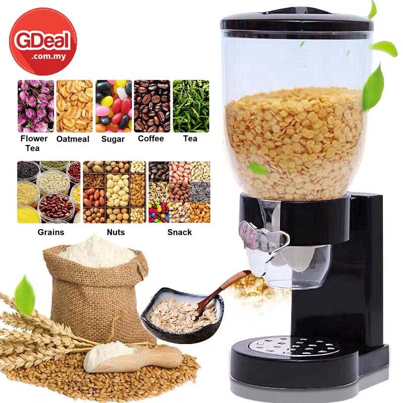 GDeal Professional Food Cereal Dispenser Kitchen Storage Cans Cereal Boxes Household Cereal Dispenser (Random Colour)