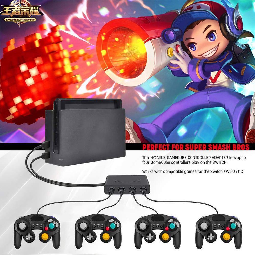 ✨2 In 1 Controller Adapter Converter Nintend Switch Wii U PC