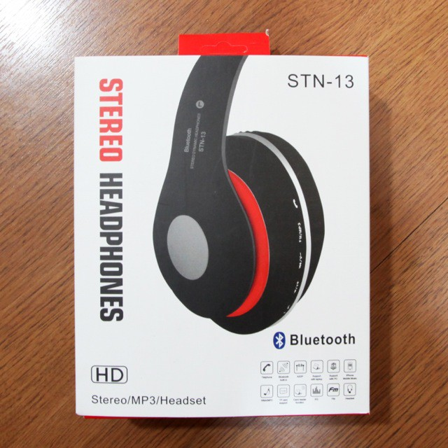 STN-13 Stereo Wireless Headphone Headsets Noise cancelling Bluetooth | Shopee Malaysia