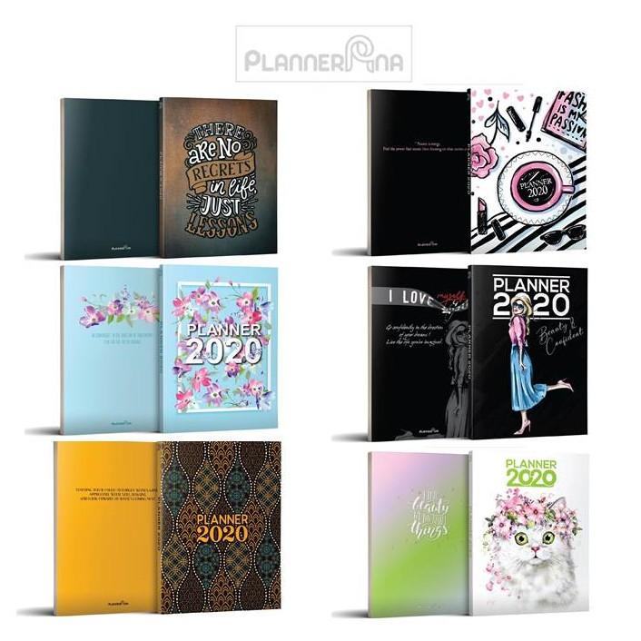 Planner Ana Year 2020 + free gift (blossom, beauty, kitten, batik, no regrets, passion)
