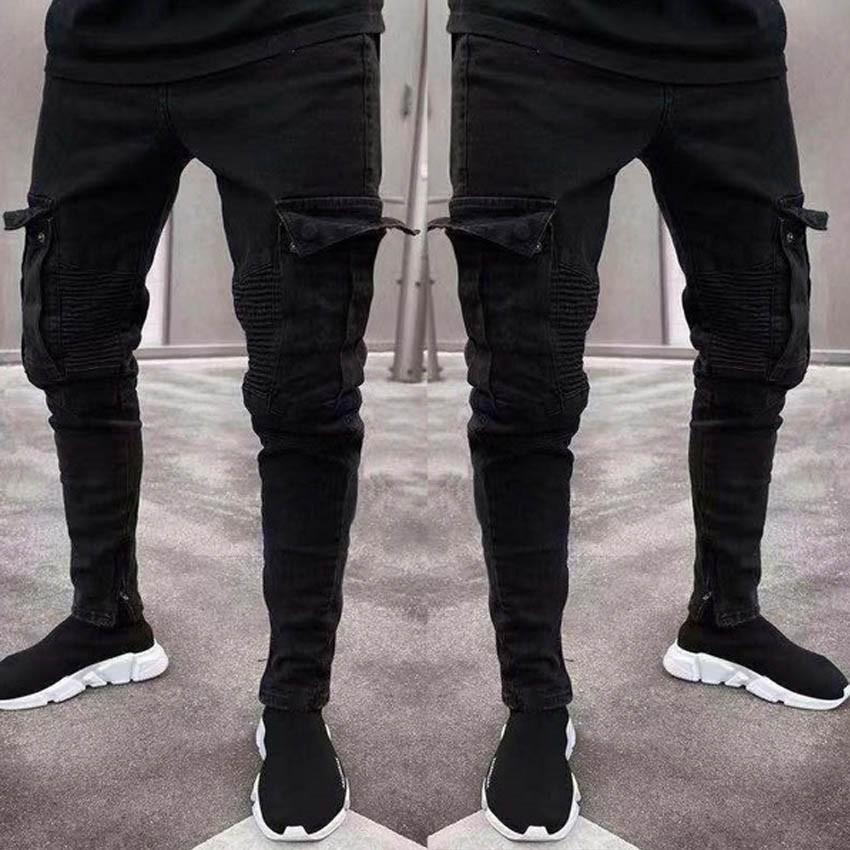 Skinni Fit Men Casual Cargo Shorts