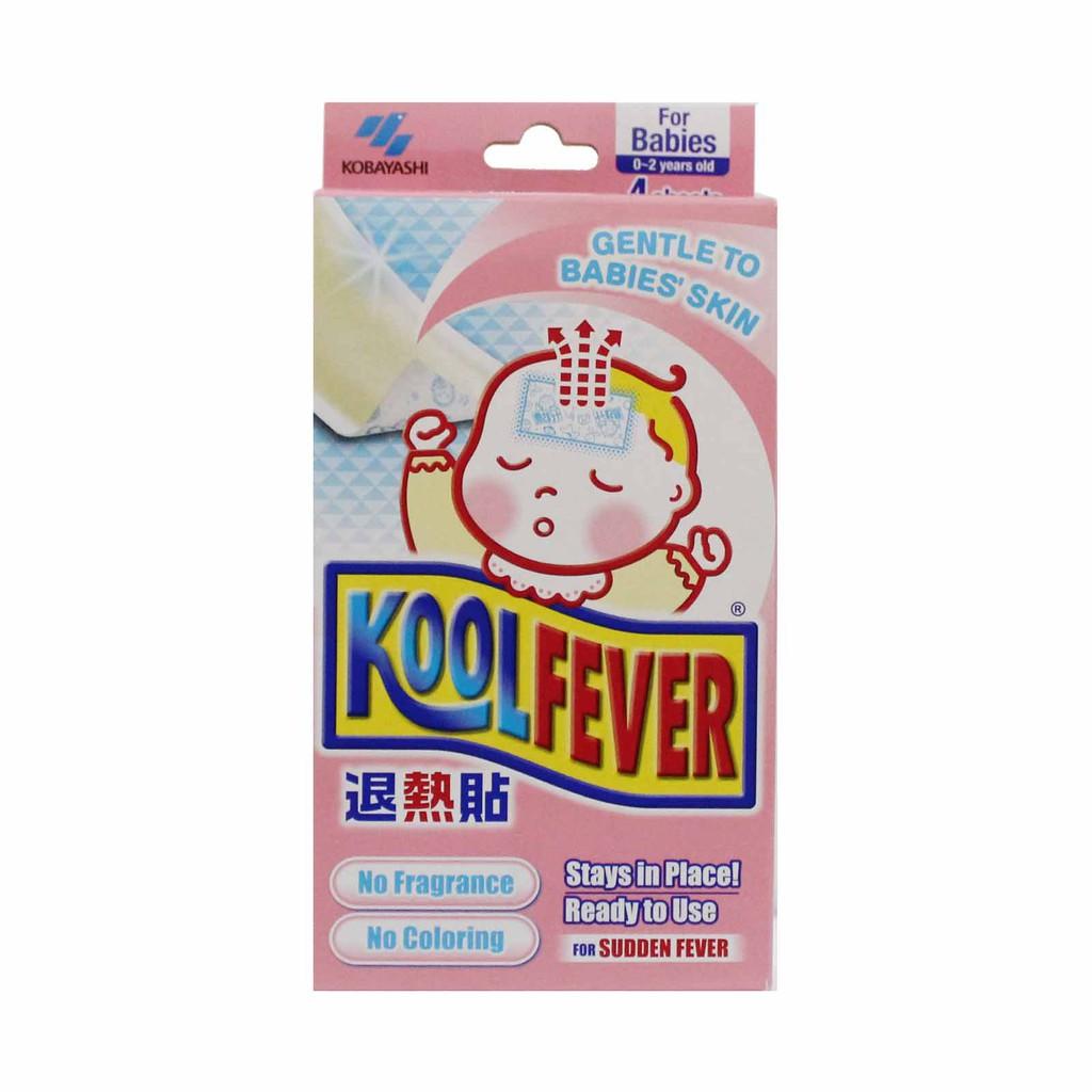 Koolfever Cooling Gel Sheet Baby (4pcs)