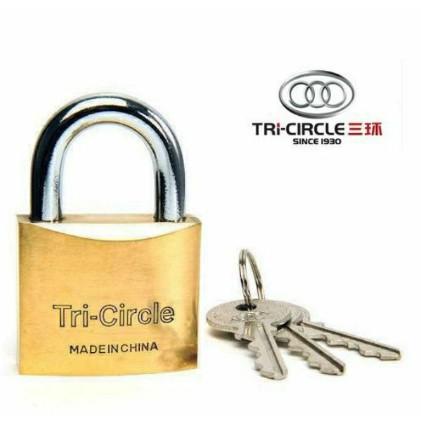 TRI-CIRCLE PADLOCk Original all sizes